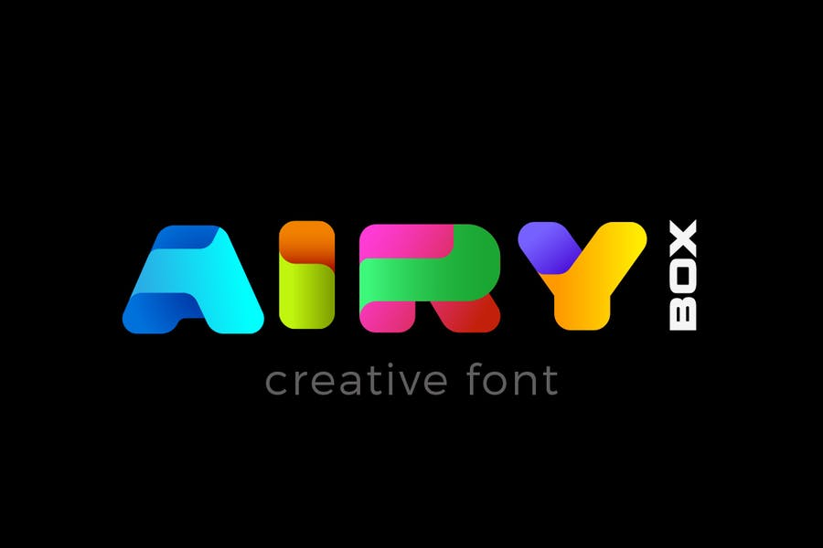 Airy-BOX - 38+ COOL Opentype SVG Fonts [year]