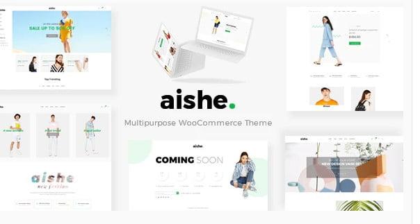 Aishe - 53+ Pretty Ecommerce WordPress Themes [year]