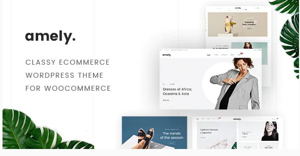 Amely - 53+ Pretty Ecommerce WordPress Themes [year]