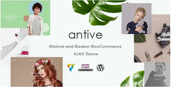 Antive - 53+ Pretty Ecommerce WordPress Themes [year]
