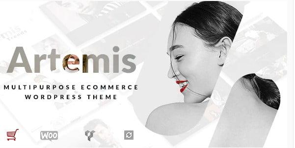 Artemis - 53+ Pretty Ecommerce WordPress Themes [year]