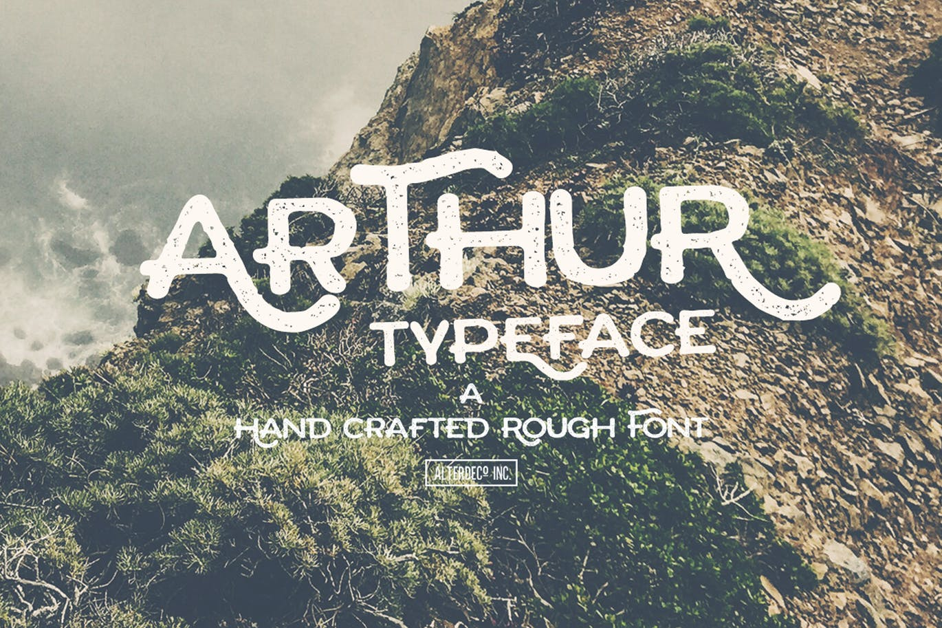 Arthur-Typeface - 50+ BEST Typography Logo Fonts [year]