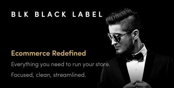 BLK-Black-Label - 53+ Pretty Ecommerce WordPress Themes [year]
