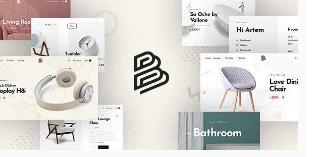 Barberry - 53+ Pretty Ecommerce WordPress Themes [year]