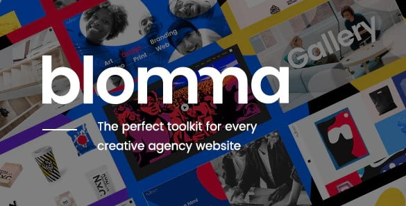 Blomma - 35+ TOP Color Schemes WordPress Theme [year]