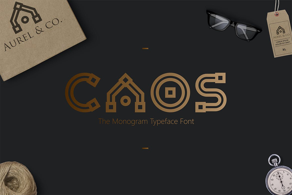CAOS - 50+ BEST Typography Logo Fonts [year]