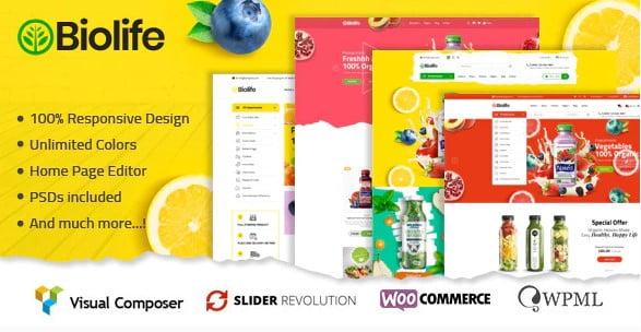 Caliris-1 - 35+ TOP Color Schemes WordPress Theme [year]
