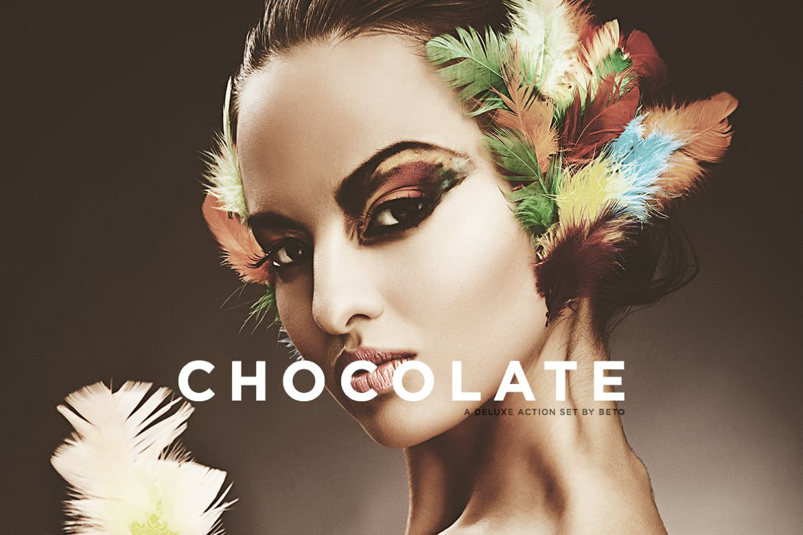 Chocolate-Action - 50+ BEST Photo Editing Photoshop Actions [year]