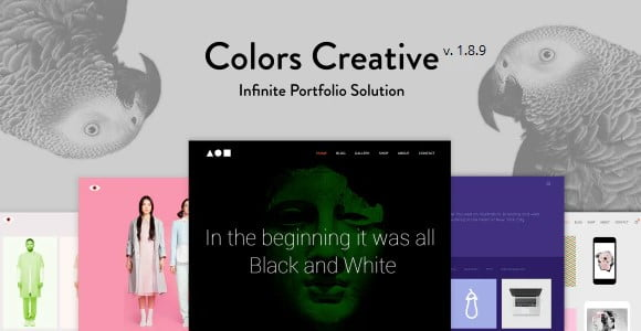 Colors-Creative - 35+ TOP Color Schemes WordPress Theme [year]