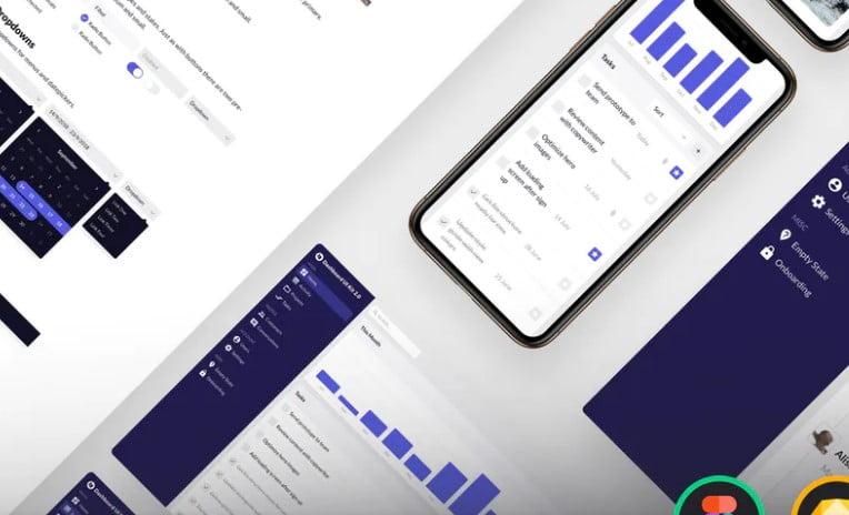 Dashboard-UI-Kit - 38+ BEST Dashboard PSD & Sketch Templates [year]