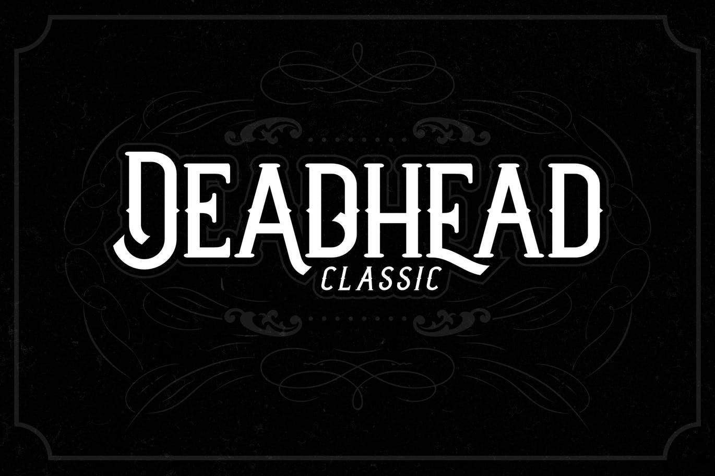 Deadhead-Classic - 50+ BEST Typography Logo Fonts [year]