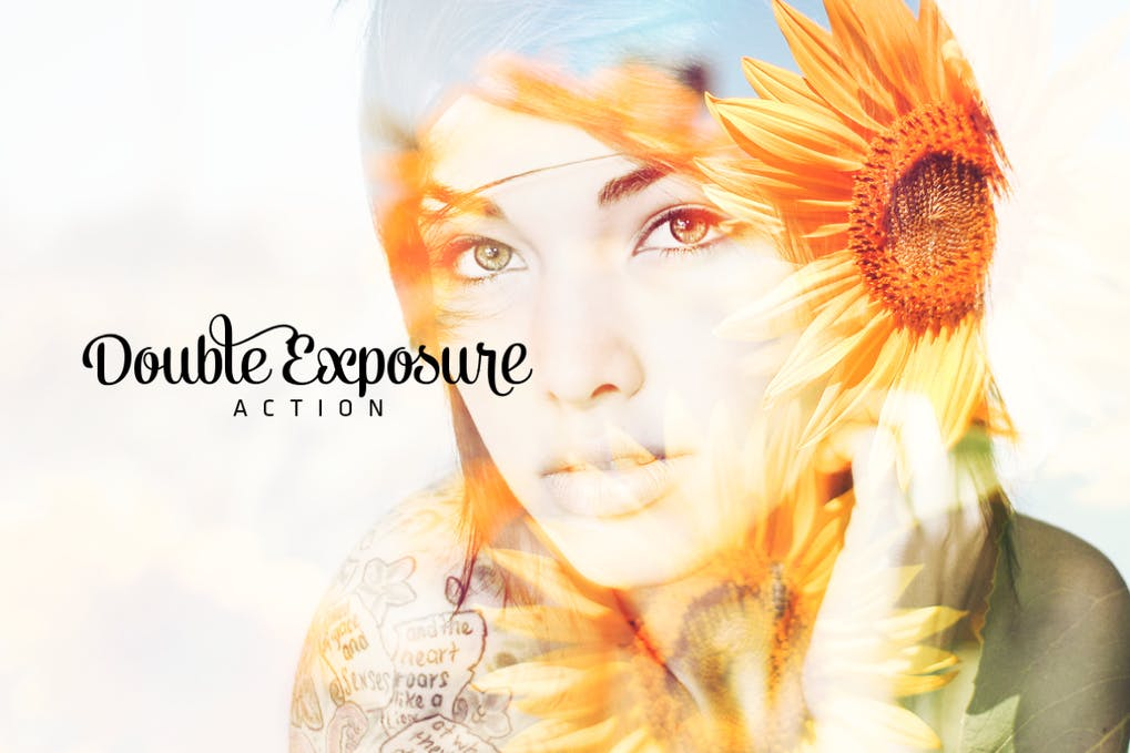 Double-Exposure-Action - 50+ BEST Photo Editing Photoshop Actions [year]