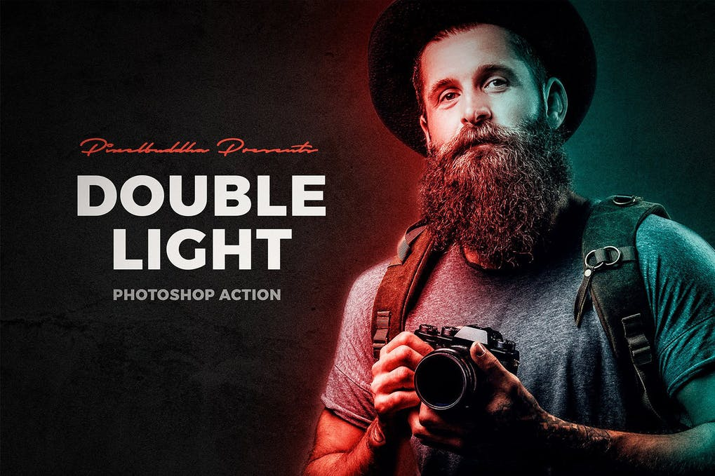 Double-Light-Photoshop - 50+ BEST Photo Editing Photoshop Actions [year]