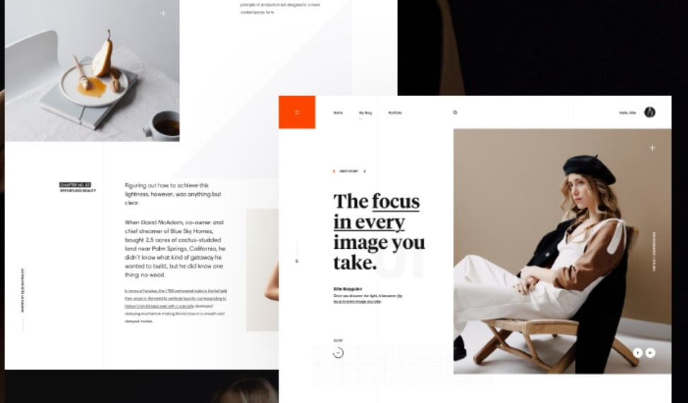 Ellie-Baygulov-Blog-1 - 63+ FREE NICE Blog Layout Designs IDEA [year]
