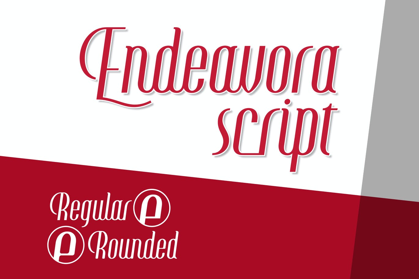 Endeavora-Script - 50+ BEST Typography Logo Fonts [year]