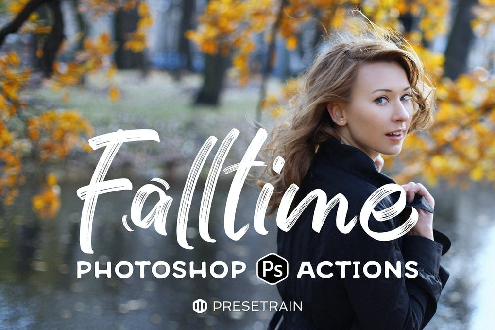 Falltime-Photoshop - 50+ BEST Photo Editing Photoshop Actions [year]