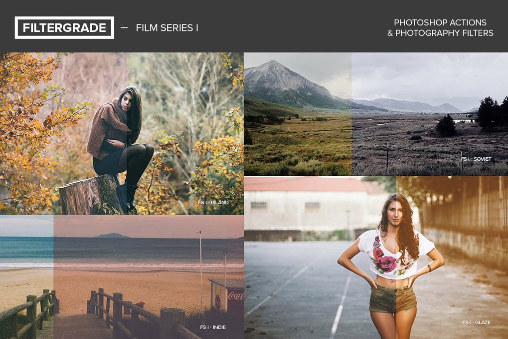 FilterGrade-Film - 50+ BEST Photo Editing Photoshop Actions [year]