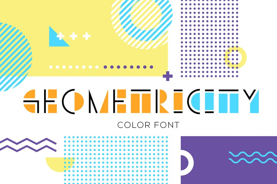 GEOMETRICITY - 38+ COOL Opentype SVG Fonts [year]