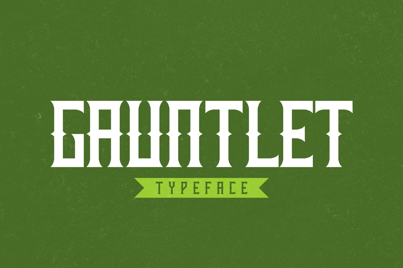 Gauntlet - 50+ BEST Typography Logo Fonts [year]