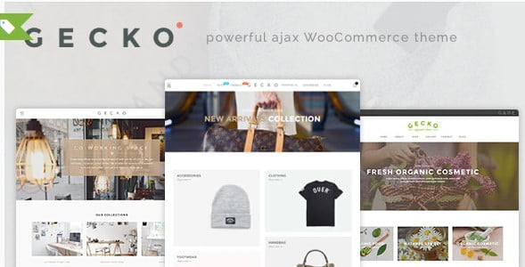 Gecko-3 - 53+ Pretty Ecommerce WordPress Themes [year]