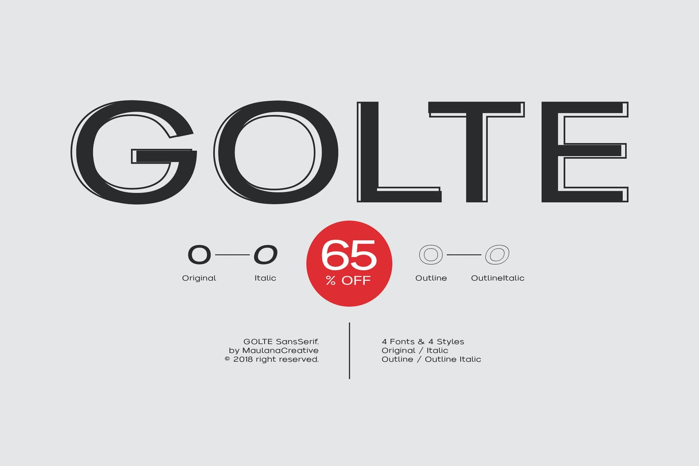 Golte-Sans-Font - 50+ BEST Typography Logo Fonts [year]