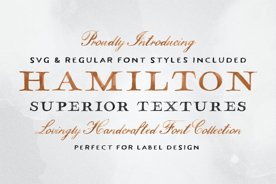 Hamilton-SVG-Font - 38+ COOL Opentype SVG Fonts [year]