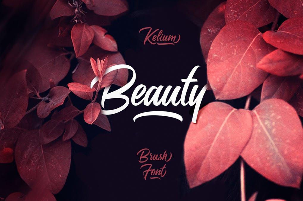 Kelium - 50+ BEST Typography Logo Fonts [year]