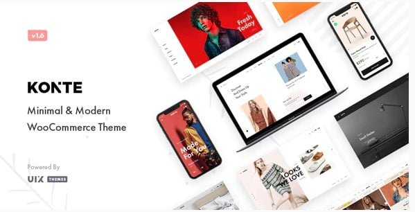 Konte - 53+ Pretty Ecommerce WordPress Themes [year]