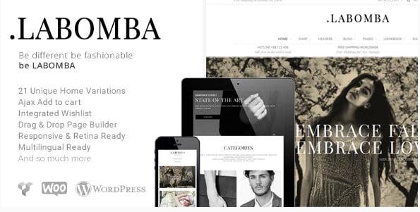Labomba - 53+ Pretty Ecommerce WordPress Themes [year]