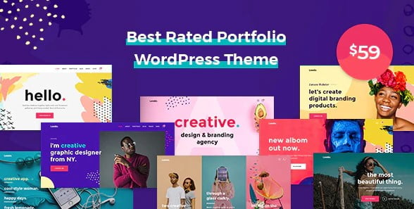 Leedo - 35+ TOP Color Schemes WordPress Theme [year]