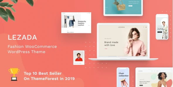 Lezada - 53+ Pretty Ecommerce WordPress Themes [year]