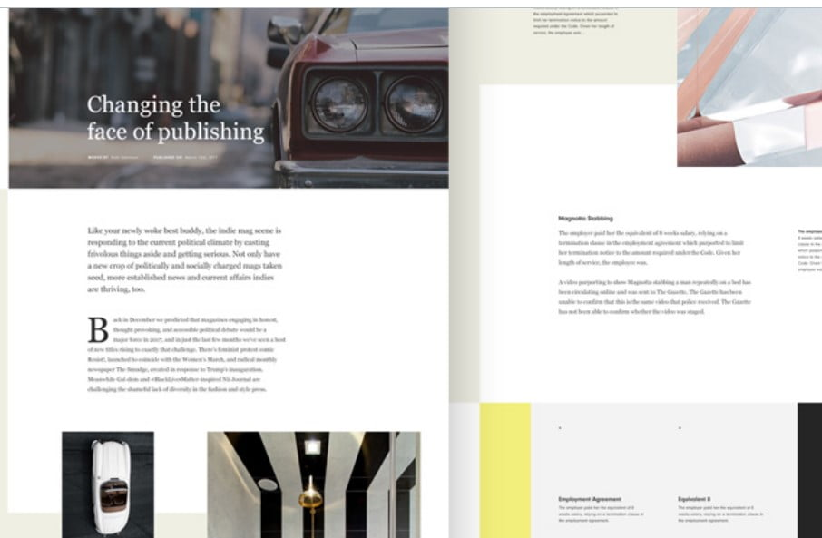 Magazine-Blog-Layout - 63+ FREE NICE Blog Layout Designs IDEA [year]