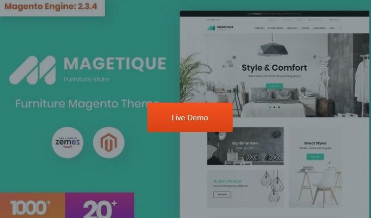 Magetique - 53+ Pretty Ecommerce WordPress Themes [year]