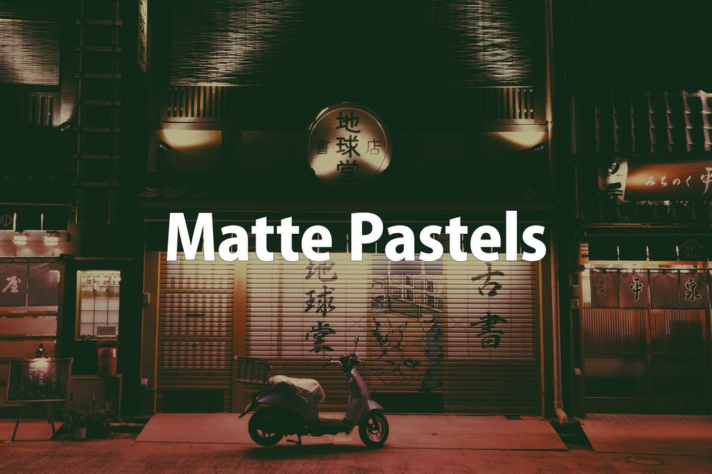 Matte-Pastels-3 - 50+ BEST Photo Editing Photoshop Actions [year]