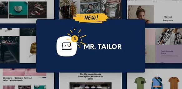 Mr.-Tailor - 53+ Pretty Ecommerce WordPress Themes [year]