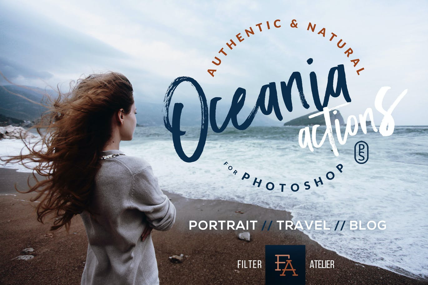 Oceania-Photoshop-1 - 50+ BEST Photo Editing Photoshop Actions [year]