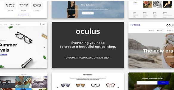 Oculus - 53+ Pretty Ecommerce WordPress Themes [year]
