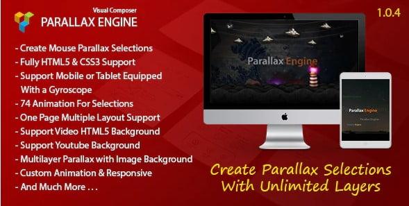 Parallax-Engine - 35+ TOP WordPress Parallax Plugins [year]