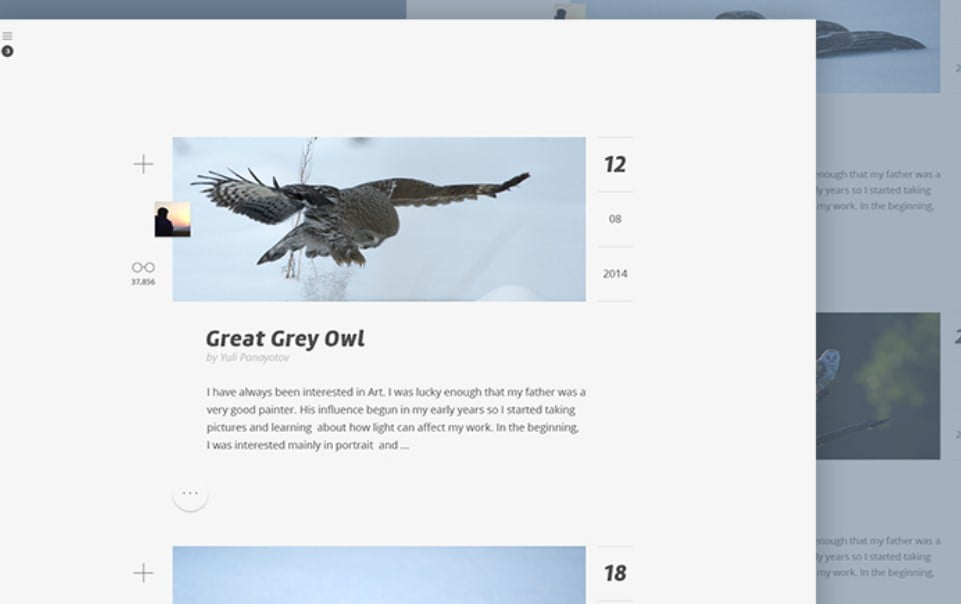 Photo-Blog - 63+ FREE NICE Blog Layout Designs IDEA [year]