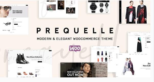 Prequelle - 53+ Pretty Ecommerce WordPress Themes [year]