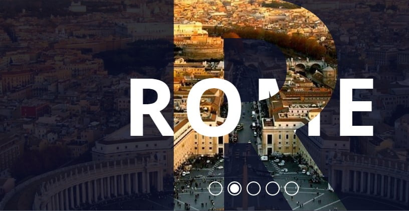 Responsive-Parallax-Drag - 34+ FREE Bootstrap Slider Animation Effects IDEA [year]