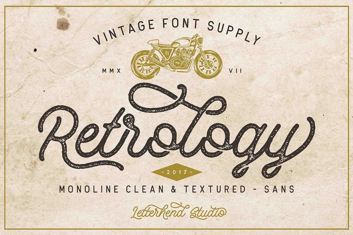 Retrology - 50+ BEST Typography Logo Fonts [year]