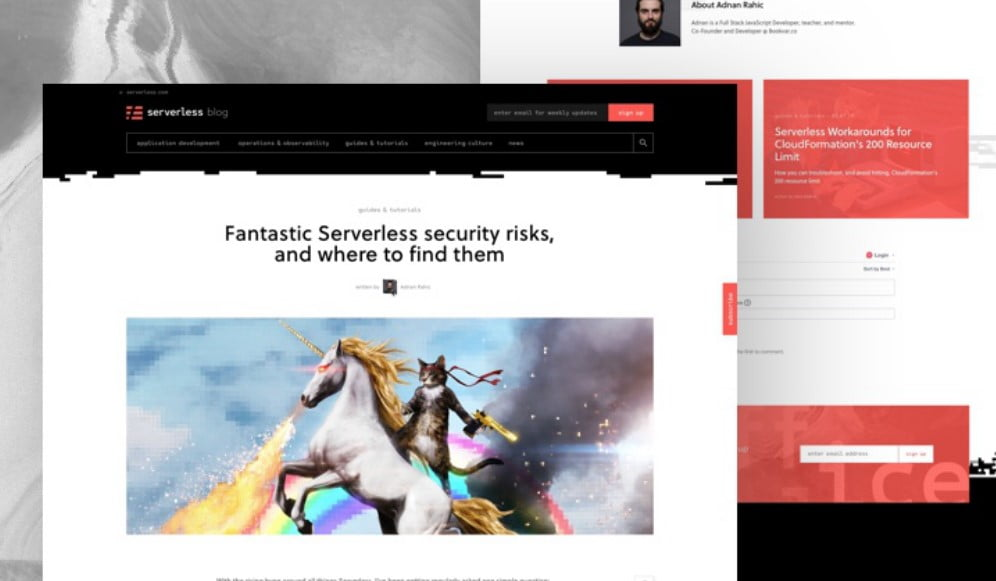 Serverless-Blog - 63+ FREE NICE Blog Layout Designs IDEA [year]