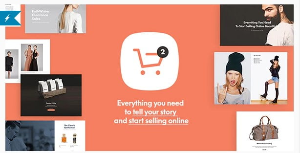 Shopkeeper - 53+ Pretty Ecommerce WordPress Themes [year]