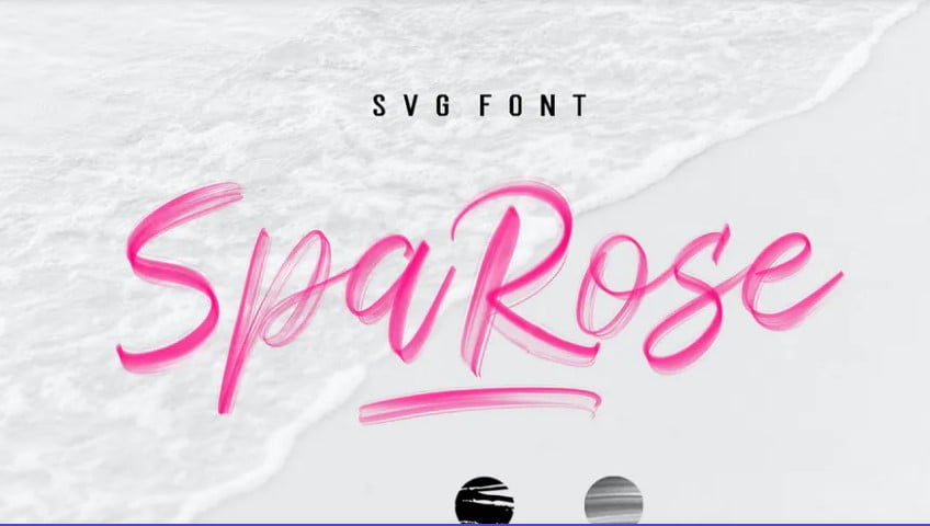 Sparose-SVG-Font - 38+ COOL Opentype SVG Fonts [year]