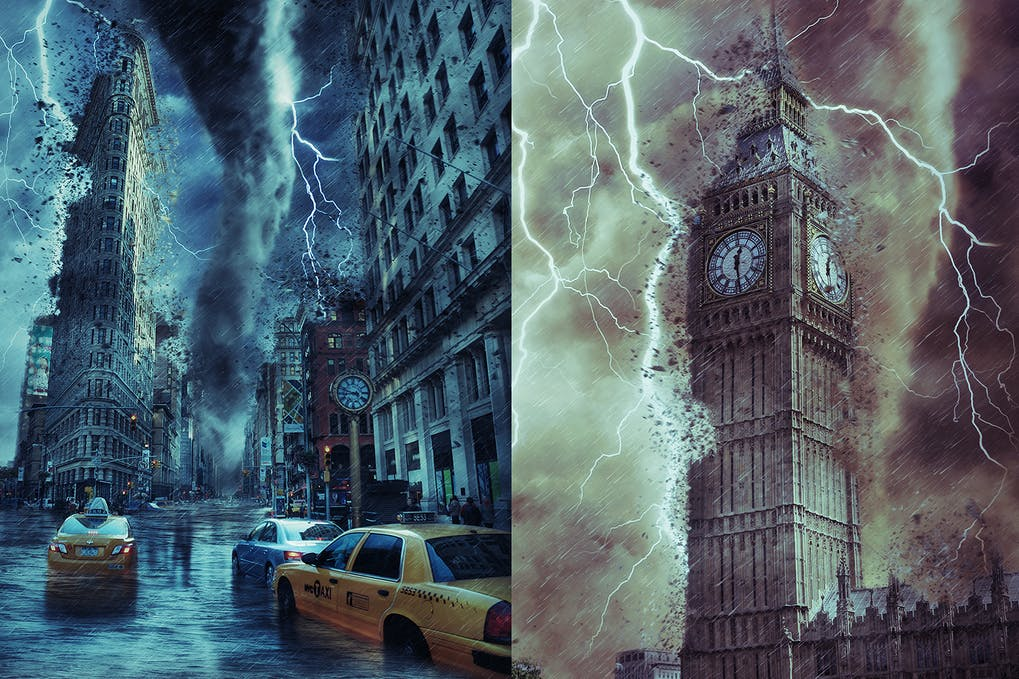 Storm-Photoshop-Action - 50+ BEST Photo Editing Photoshop Actions [year]