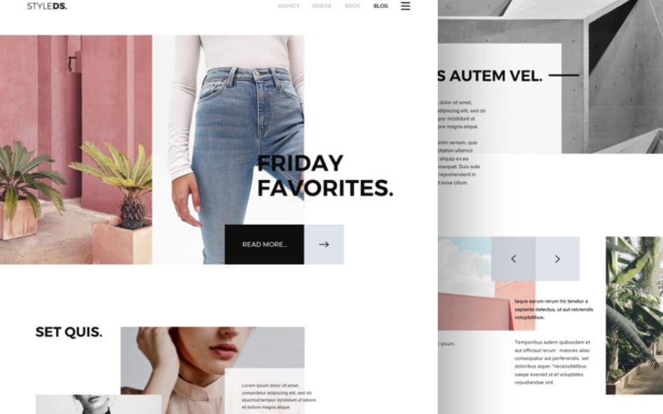 Styledc - 63+ FREE NICE Blog Layout Designs IDEA [year]