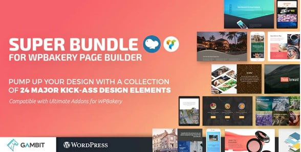 Super-Bundle-for-WPBakery - 35+ TOP WordPress Parallax Plugins [year]