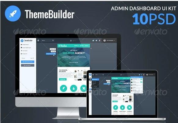 ThemeBuilder - 38+ BEST Dashboard PSD & Sketch Templates [year]