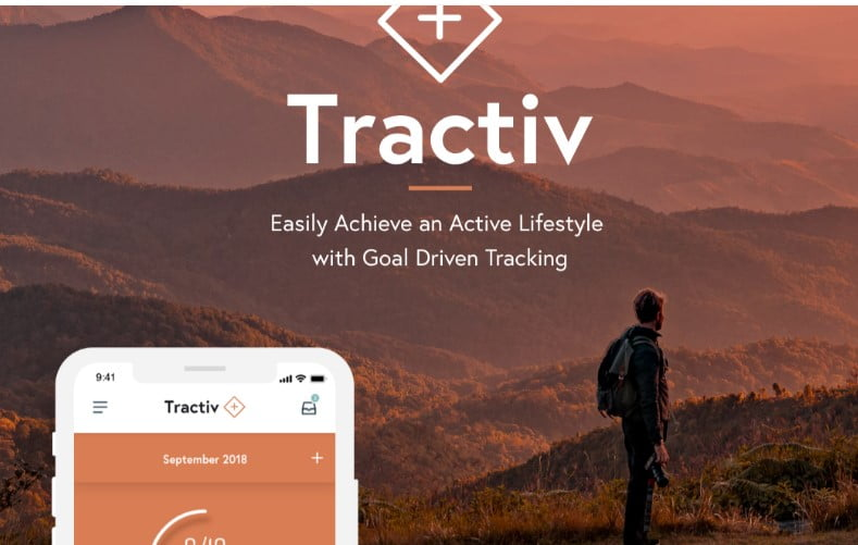 Tractiv-UI-Kit - 53+ BEST FREE Adobe XD Web & Mobile Kits [year]